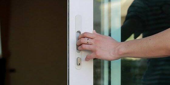 Security Door on house